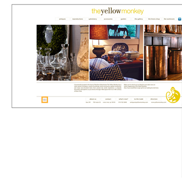 The Yellow Monkey Multi-Media Website