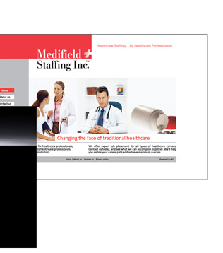 Medifield Staffing Multi-Media Website